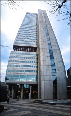 Silver Tower Wolkenkratzer Architecture Frankfurt