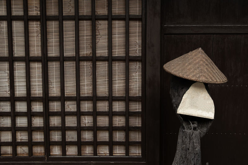 Japanese traditional wooden wall with tatami mat and bamboo hat Wooden Wall Wood Japanese  Tatami Mat Brown Hat Bamboo Pattern Background Board Lumber Old Texture Home House Vintage Hardwood Traditional Panel Nature Exterior Grunge Retro Carpentry Rough Dirty Pine Surface Hut Natural Striped Grain Timber Parquet Woodgrain Cracked Branch Weathered Row Rustic Blank Tree Decorative Dried Structure Decor Construction Material