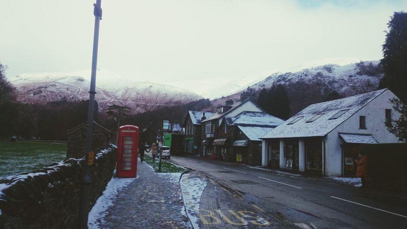 Snow ❄ Village Life walking to work ?