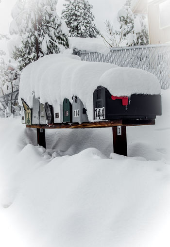 You got mail Check This Out Hanging Out Hello World Taking Photos Winter Wonderland Big Bear Lake Snow ❄