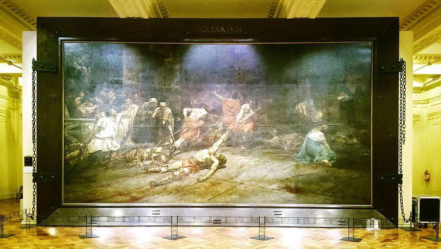 Spolarium Juan Luna Painting At The Museum At National Museum National Museum Of The Philippines Showcase July