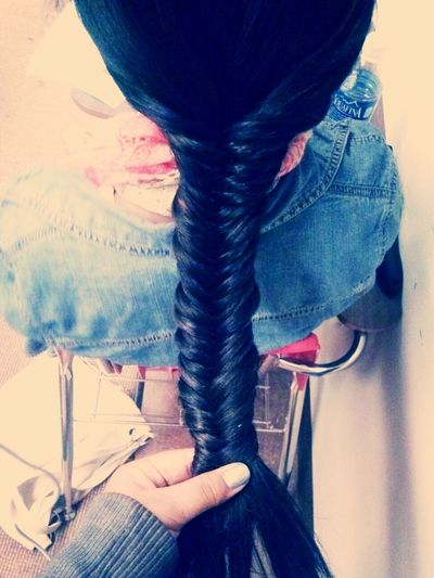 i did her fish tail ((: