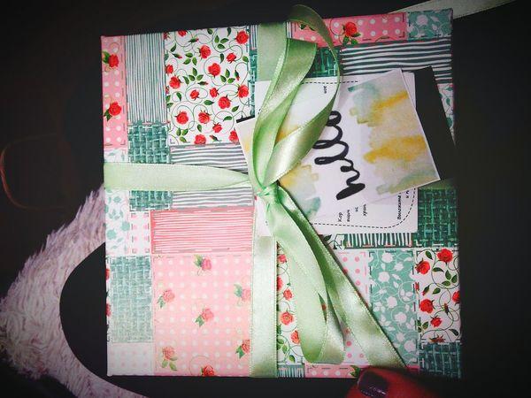 Подарки всегда приятны :)