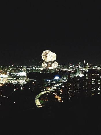 Seoul International Fireworks Festival From The Rooftop