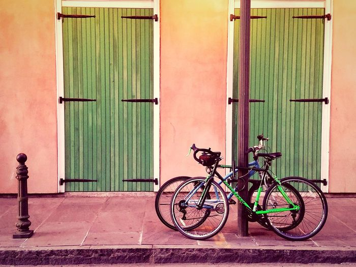 RIDE Streetphotography Travel Travelgram Bikes EyEmNewHere Wanderlust Exploreneworleans Frenchquarter Streetscene Oldbuildings Streetfinds Rethink Things Postcode Postcards Perspectives On Nature An Eye For Travel