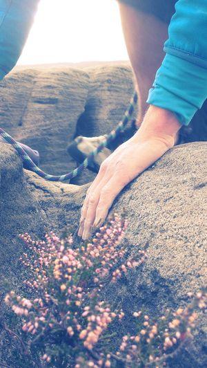 Peak District  Climbing Grit Friction