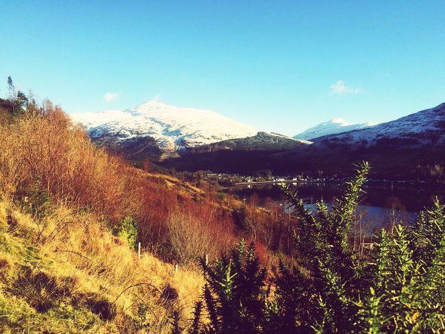 Lochgoilhead Taking Photos Winter Wonderland Argyll