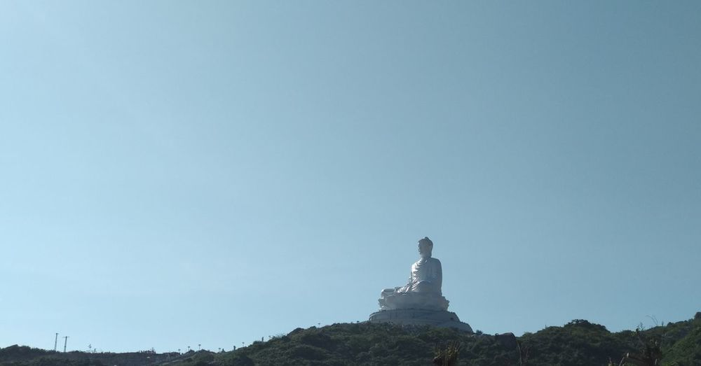 Do you believe in karma? Buddha Buddhism Capture The Moment CapturingMoments Karma Believe Wishing Photo Photography Statue Human Representation Sculpture Travel Destinations No People History Clear Sky