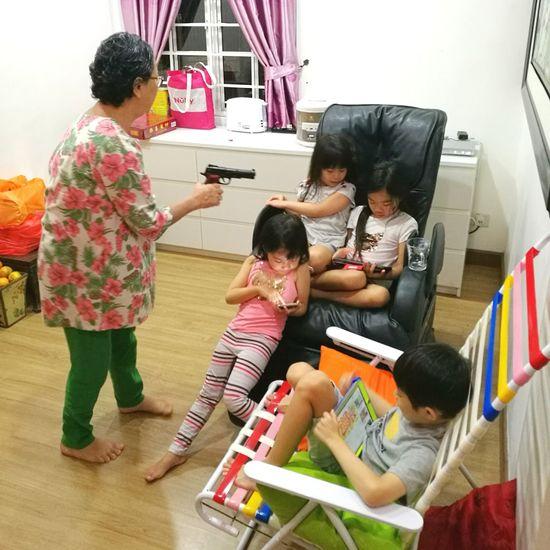 Child Girls Indoors  Childhood People Togetherness City Life Enjoyment Showcase January
