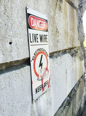 Sign Metal Sign Danger