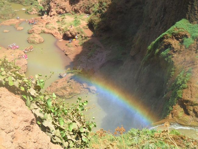 43 Golden Moments Holiday Memories Ouzoud Falls Marrakech Morocco Rainbow