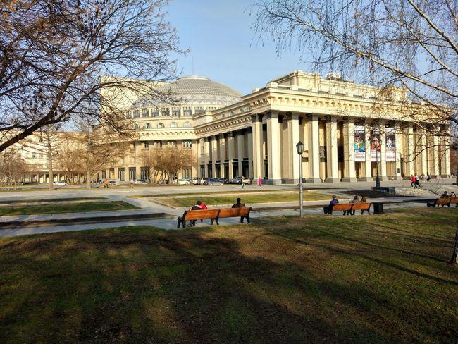 Architecture Outdoors Новосибирск Novosibirsk оперныйтеатр оперный Театр оперы и балета Театр The Week On EyeEem