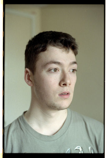 Sam - 2018 35mm 35mm Film Film Auto Post Production Filter Casual Clothing Close-up Contemplation Film Photography Filmisnotdead Front View Headshot Home Interior Human Face Indoors  Lifestyles Looking Looking Away Males  Men One Person Portrait Real People Transfer Print Young Men