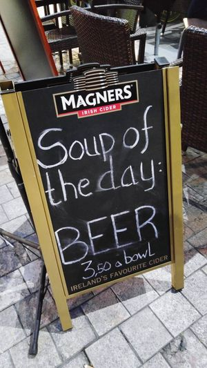 Soup Of The Day Seems Legit Spanish Food