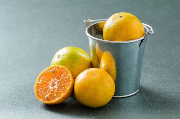Cuisine Diet Citrus Fruit Close-up Day Food Food And Drink Fresh Freshness Fruit Gray Background Healthy Eating Healthy Fruit Indoors  Juicy No People Orange - Fruit Orange Fruit Organic Fruit SLICE Studio Shot Sweet Fruit Tangerine Vitamin C Yellow