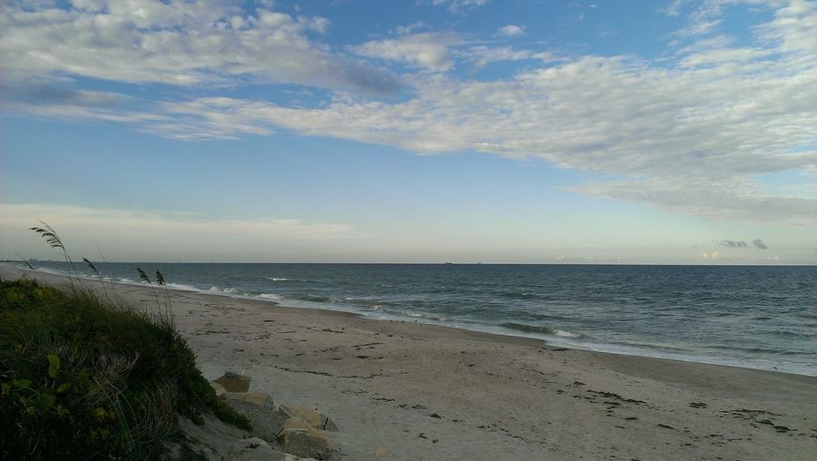 Space Coast Beachfront Florida Oneography Creatography HTC Htconem8 Sunset #sun #clouds #skylovers #sky #nature #beautifulinnature #naturalbeauty #photography #landscape Beach Beachphotography Life Is A Beach