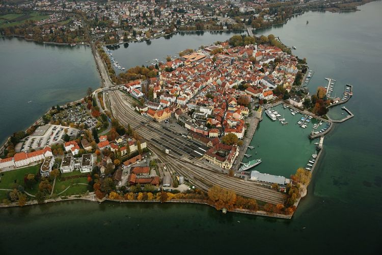 Lindau Lindau Bodensee Sky Germany Air View Premium Eyeem Eyem Premium Premium Collection