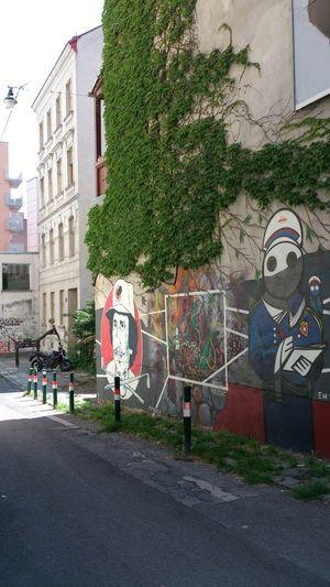 Streetart Seitengasse Juli 2014 Streetography