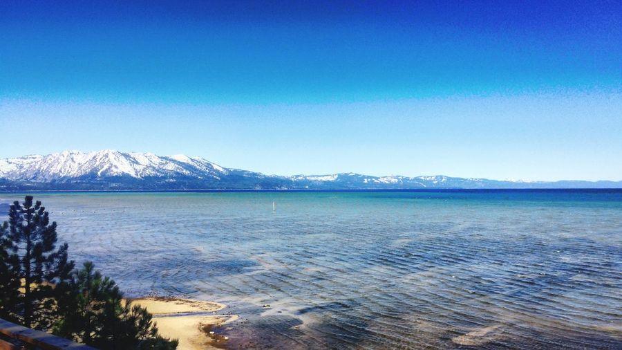 Tahoe Mountains Southshore Laketahoe Lake Lake View Summer Sierras Outdoors