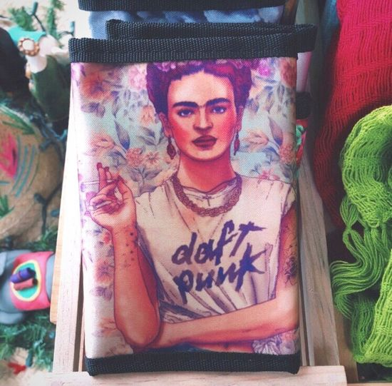 Frida Punk. Daft Khalo - 'I leave you my portrait so that you will have my presence all the days and nights that I am away from you ~ I want to be inside your darkest everything.' FK - Punk is not dead. 🚬😎✌🏼️ Woman Womanity  Rebellion Attitude Extravagance Fridakhalo Inspirational FabCiraolo's Art ArtWork Art And Craft Punk Style Daft Punk Color Portrait Women Of EyeEm Woman Portrait Women Colors Flowers Traveling Travel Photography Iphoneonly Exploring Tulum , Rivera Maya. Mexico