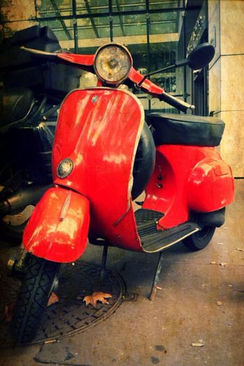 Scooter Italy Red Vintage Urban Urbanphotography Urban Lifestyle