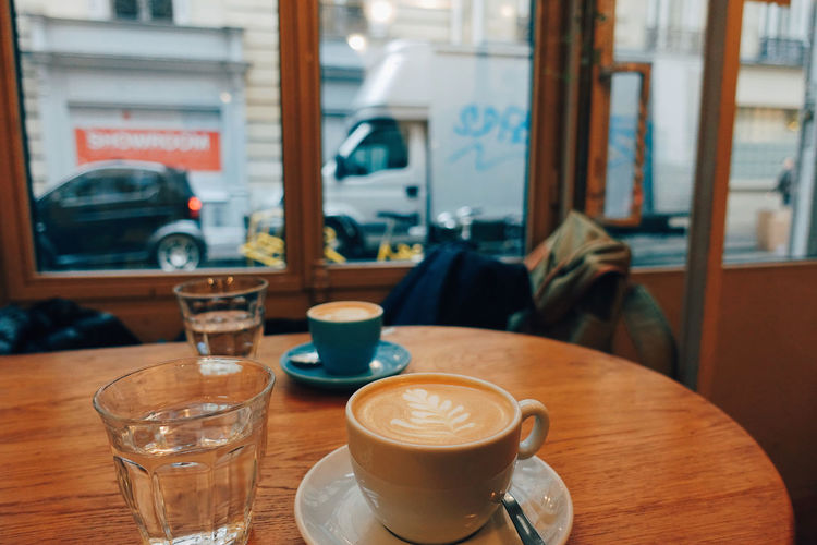 with U//. Cafe City City Life Close-up Coffee Coffee Cup Coffee Time Day Drink Food And Drink Friendship Happiness Happy Indoors  Street Sweet Table Warm Window Winter With Friends Neighborhood Map Place Of Heart