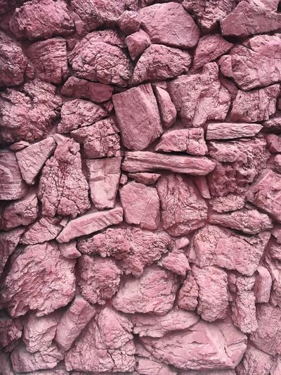 Texture Abstract Full Frame Backgrounds Pattern Textured  No People Close-up Rough Arrangement Abundance Stone Wall Wall - Building Feature Nature Outdoors Creativity Old Pink Color Day Built Structure Architecture Wall
