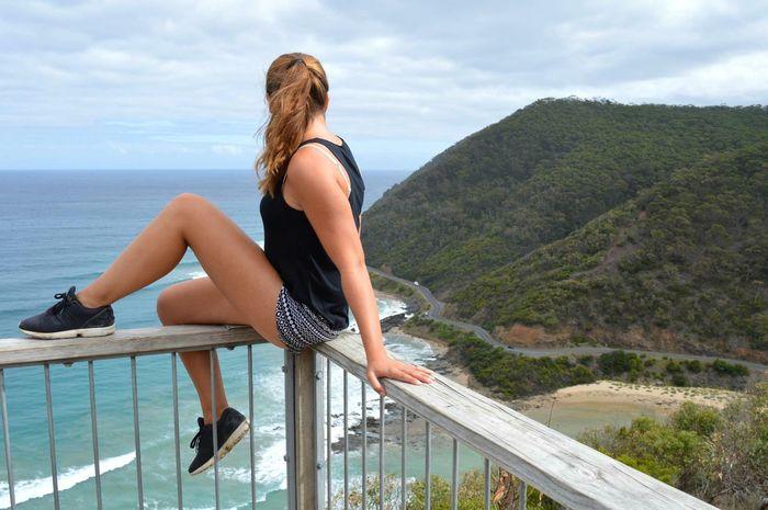 Feel The Journey Great Ocean Road Greatoceanroad Australia❤️ Australia Australian Landscape Aussie Australia & Travel Australiagram Girl Power