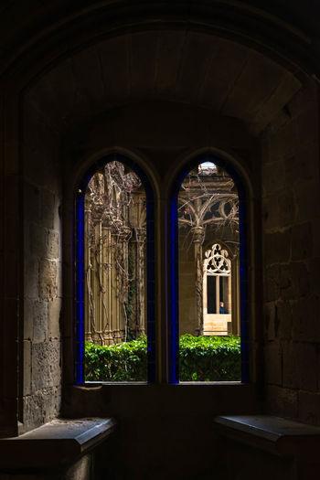 Olite Navarra EyeEmNewHere EyeEm Selects The Week On EyeEm Window Arch Door No People Indoors  Travel Destinations Architecture Day