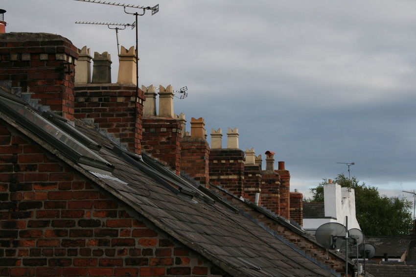 Architecture Ariel Building Exterior Built Structure Chimney Tops City Cloud - Sky Day No People Outdoors Rooftop Sky