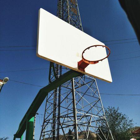 Basketball Hoop Basketball - Sport Communication Sky