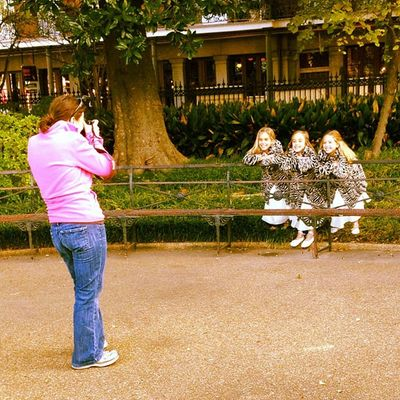 Photographing triplets. #neworleans #iphoneography #jomo #triplets IPhoneography Triplets Jomo Neworleans