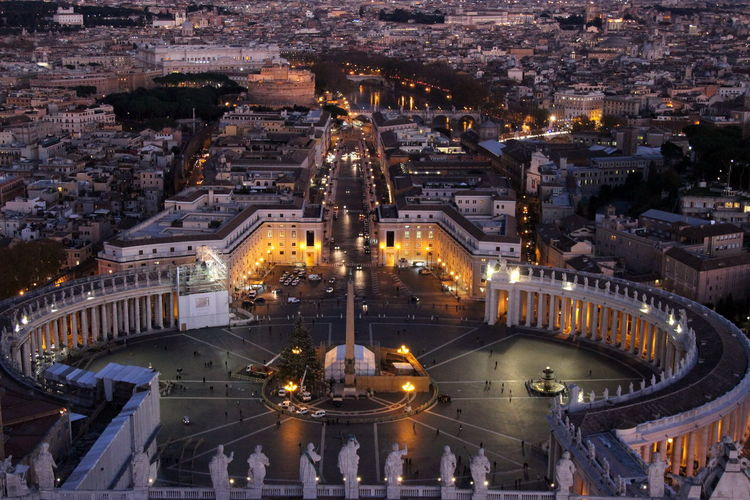 From the cathedral of saint peter in the vatican