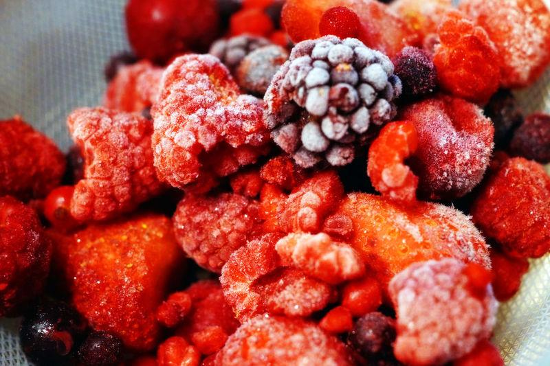gefrorene Beeren Beeren Berry Cold Color Eis Frozen Gefrorene Ice