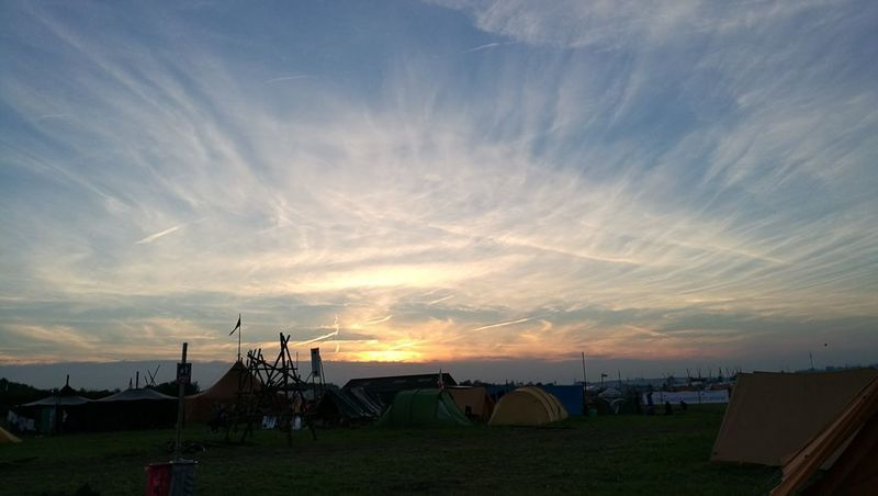 Been There. Cloud - Sky Sunset Sky Tent Scout Camp Outdoors Travel Destinations No People