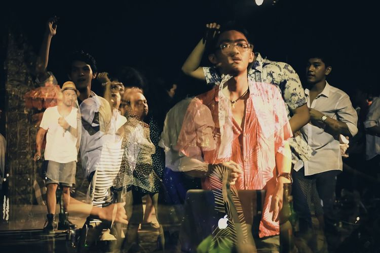 Electronic Music Shots Party Time! Eos6d Doubleexposure Beachparty Lets Get Wild Enjoy