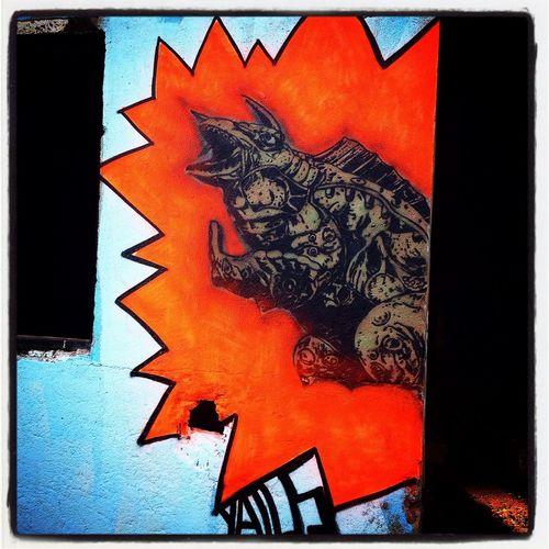 Ginger stencil Street Art Stencil Yatusabesmadrid Ginger