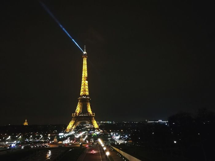 Eiffel tower at