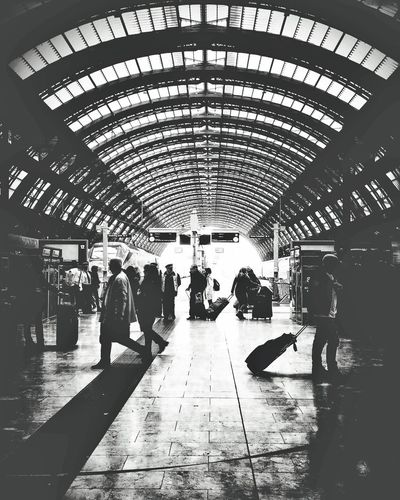Light And Reflection Milano Centrale | iPhone 6S | Snapseed Youmobile Wearegrryo Shootermag Railroad Station Passenger