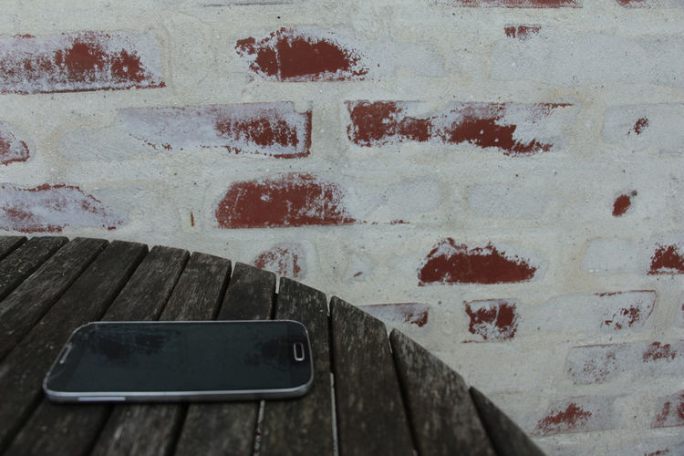 Close-up of brick wall