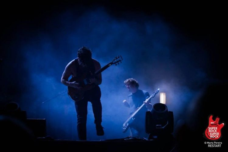 Foals Imagenscommúsica Music Musicphotographer Musicphotography Concerts SuperBockSuperRock Ilovethisjob