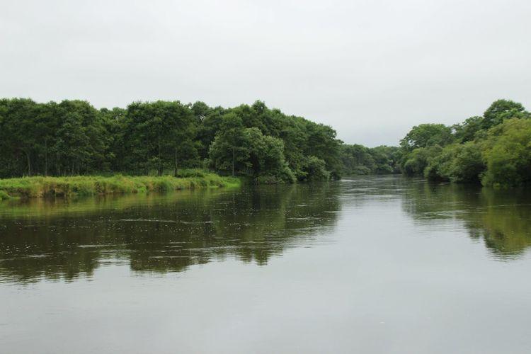 細岡駅の横のカヌー付き場。 Hokkaido Marsh Nature_collection Water_collection