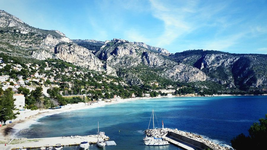 Nice Traveling Wintertime Dans Le Bus Freshness France Seascape Nature Daily Blue Cotedazur Water Sky_collection
