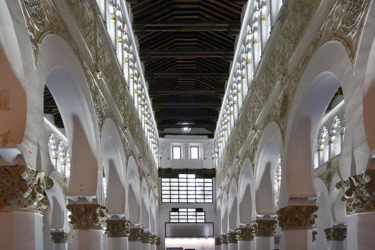 Interior Of Santa Maria La Blanca