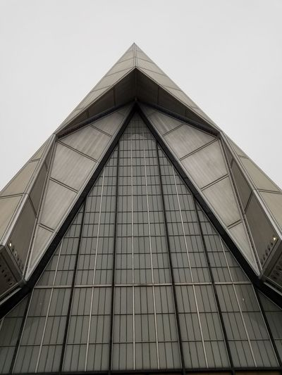 Air Force Academy chapel front Architecture outdoors