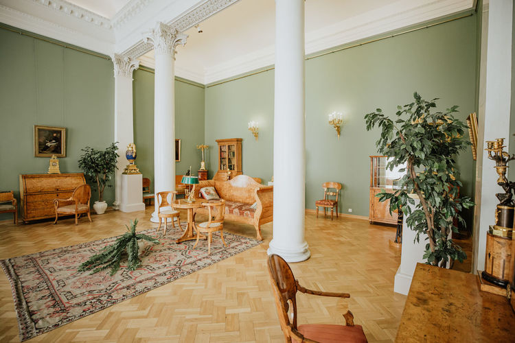 winter palace Winter Palace, Saint Petersburg Chair Seat Indoors  Flooring Furniture Home Interior Table Absence Architecture Plant Empty Domestic Room Potted Plant Living Room No People Wood - Material Built Structure Wood Day Home Showcase Interior Architectural Column Luxury Ceiling