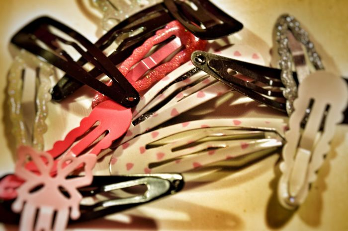 Girly Messy Mess Choice Variation Variety Random Clips Accessoires Hair Ladies Women Girl Designer  Beautiful Modern Style Vignetting Macro Close-up No People Colourful Essential Basics Must Have