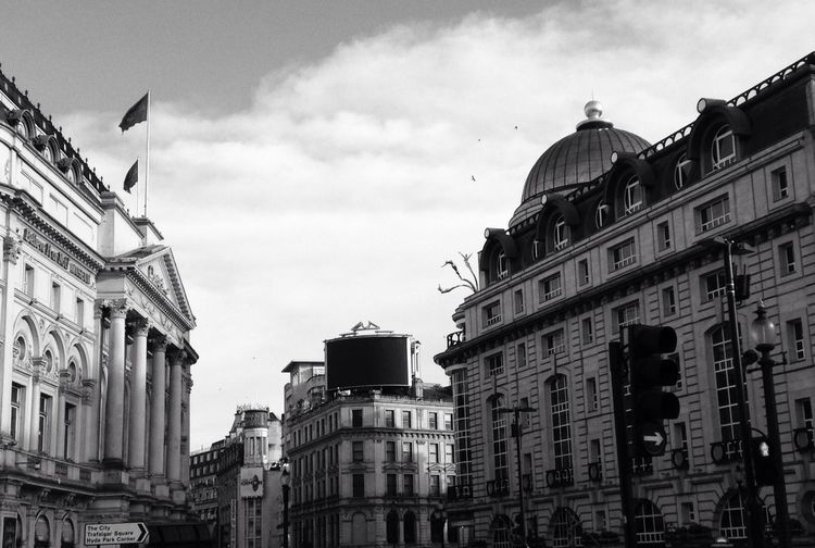 Picadillycircus Trafalgar Square