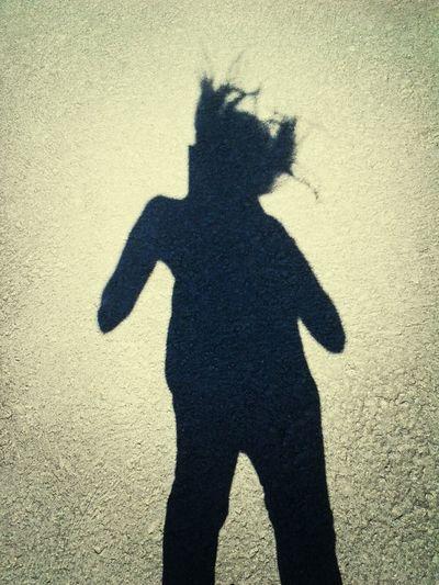 That's Me Taking Photos Shadow Silhouette