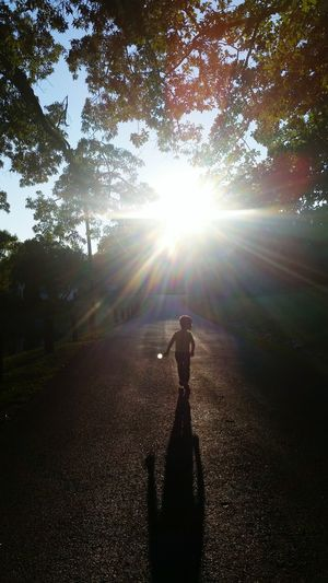 What I Value Geogeous Sunset Cute Kid Creative Light And Shadow Taking A Walk Showcase March